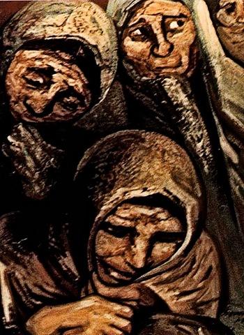 Las Mujeres de Chilpancingo -Siqueiros (1)