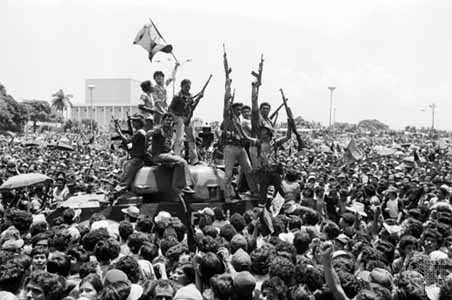 Sandinistas en Nicaragua